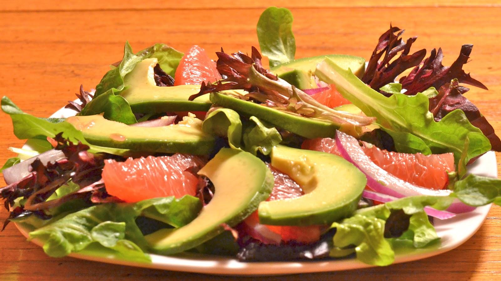 Sunny Avocado Citrus Salad