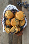 Blueberry Muffins Basket
