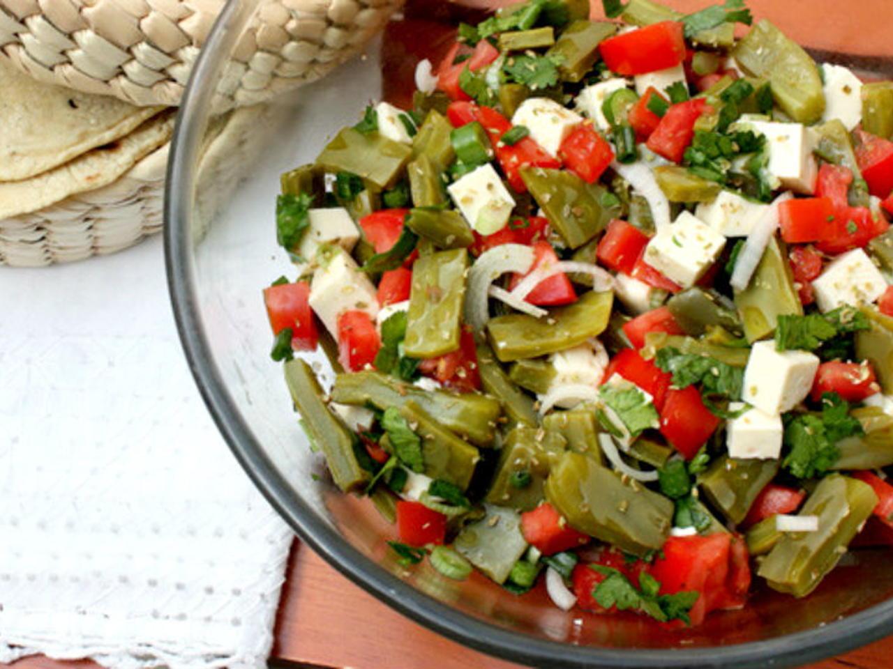 Cactus Leaf Salad