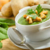 Cream of Chayote and Cilantro