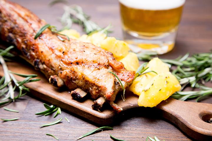 Drunken Ribs (Beer Marinated Pork Ribs)