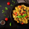 Fusilli with Meat