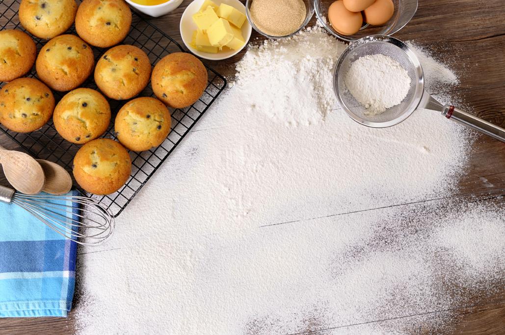 """Vanilla Muffins Known as """"Mantecadas"""""""