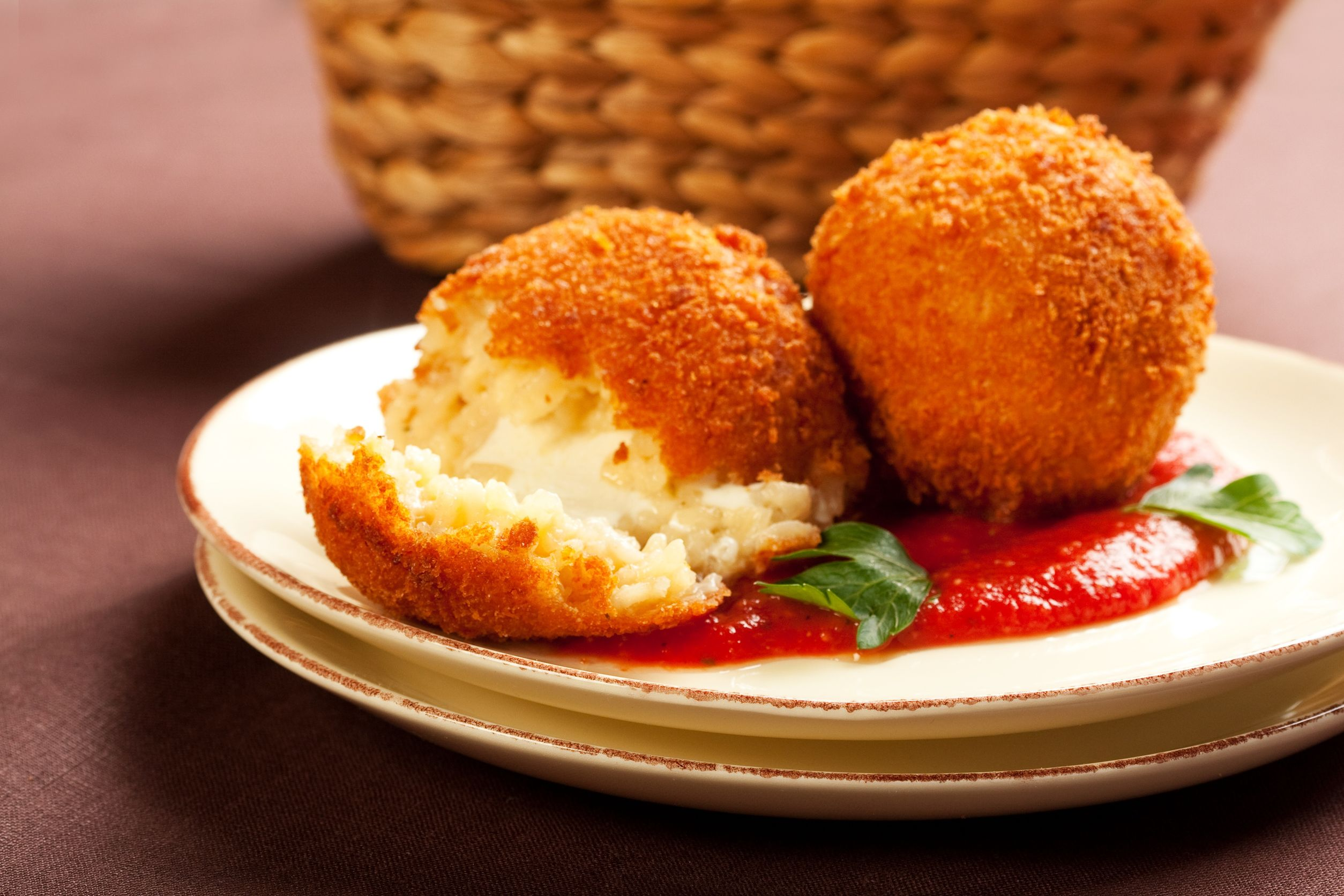 Mozzarella Rice Balls