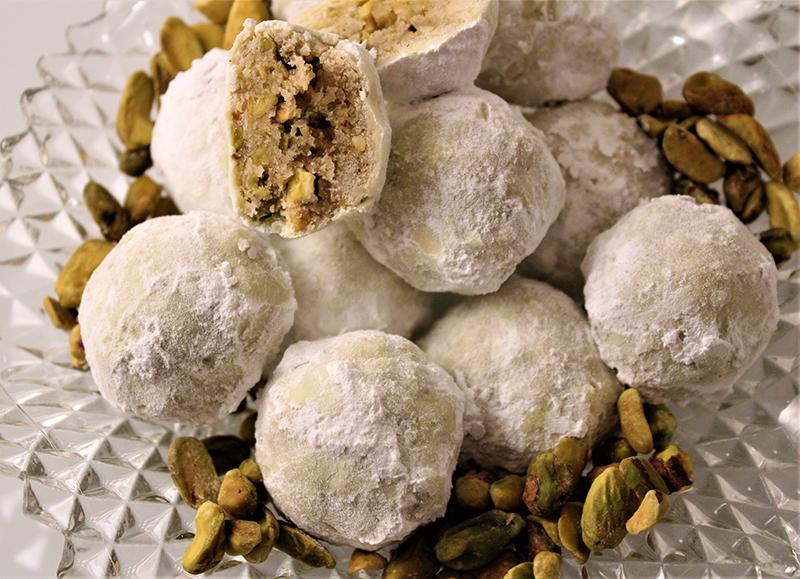 Pistachio Holiday Cookies