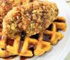 Sweet Potato Waffle & Chicken