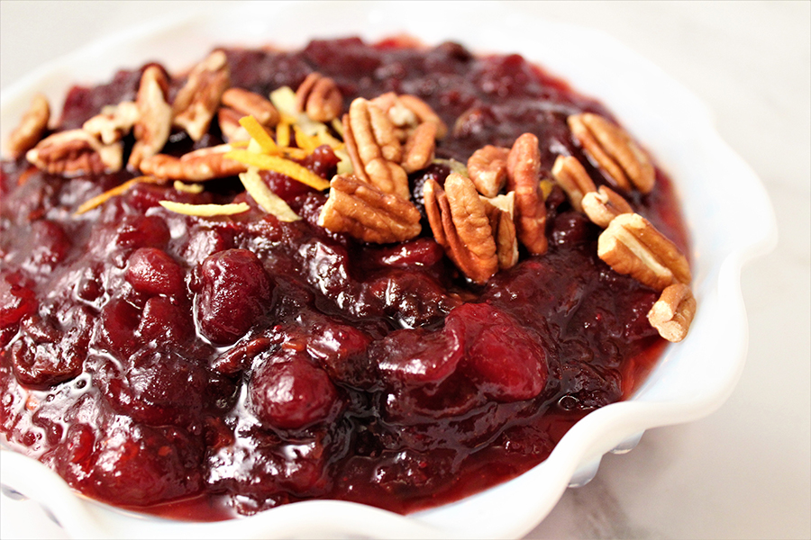 Sweet & Spicy Cranberry Sauce